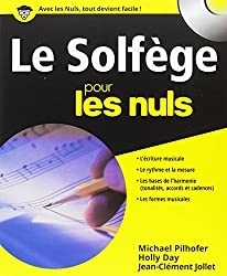 livre Le solfège pour les nuls (CD Inclus)
