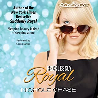 Recklessly Royal audiobook cover art