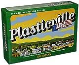 Bachmann Trains - PLASTICVILLE U.S.A. BUILDINGS – CLASSIC KITS - FIRE HOUSE w/Pumper Truck, Ladder Truck & Fire Chief Car - O Scale
