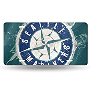 "Made Of 100% Aluminum With Stamped Metal License Plate With High Gloss. Waterproof, Rustproof, Weatherproof And Very Durable. Our License Plate Measure 6""X12"" Inch (Us Standard Size) With Slotted Mounting Holes At The Top And Bottom To Fit Your Vehic..."