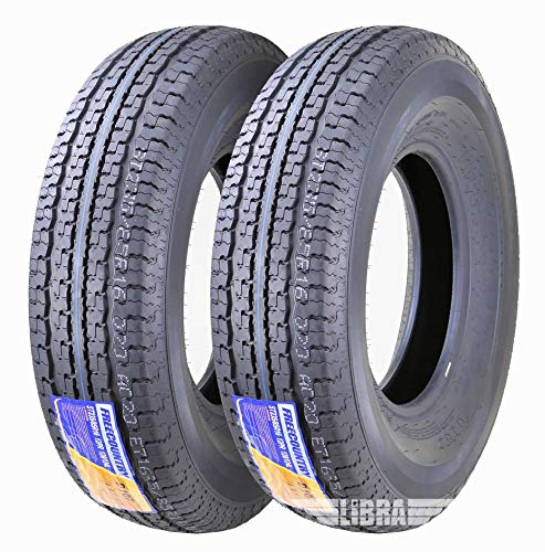2 New Premium Free Country Trailer Tires ST235/85R16 Radial 12PR Load Range F w/Scuff Guard