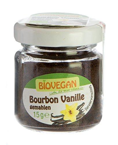 Biovegan Bourbon Vanille gemahlen, 15 g