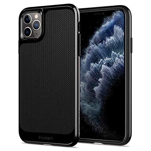 Spigen Neo Hybrid Kompatibel mit iPhone 11 Pro Hülle, Zweiteilige Modische Muster Silikon Handyhülle für iPhone 11 Pro Case Jet Black 077CS27244