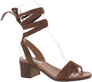 brown block heel platform sandals