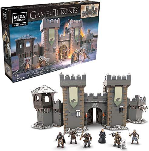 Mega Construx- Game of Thrones la Battaglia di Winterfell, 1200 Pezzi, da Collezione Giocattolo per Bambini 16+Anni, GMN75