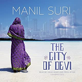 The City of Devi audiobook cover art