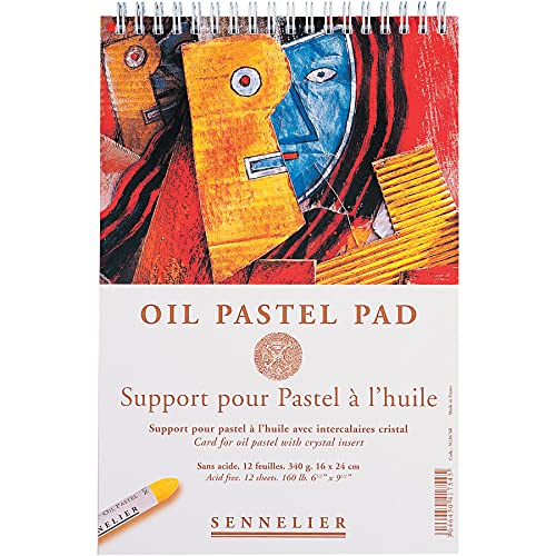 Sennelier Ölfarben-Pastellblock, 15,9 x 24,1 cm.
