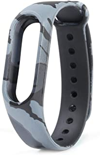 Mi cosa black and grey camouflage strap ( only for mi band 3i, 3 and 4) ( NOT for mi band 2/HRX) TPU strap for Xiaomi Mi Band 3/Mi Band 4/ band 3i Wristband Strap Accessories for Xiaomi Mi Band 3/Mi Band 4/Mi band 3i Bracelet