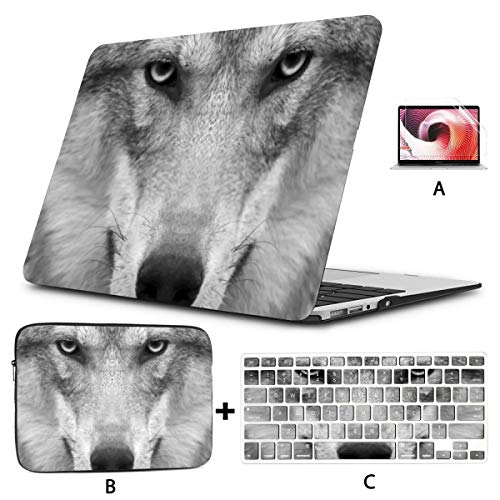 MacBook Case 13' Old Pro Retina 2012-2015 A1502/a1425,3D Rendering Abstract Fast Moving Stripe Plastic Hard Shell,Sleeve Bag,Keyboard Cover,Screen Protector,4 in 1 Laptop Case