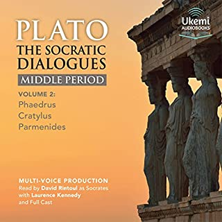 The Socratic Dialogues Middle Period, Volume 2 cover art