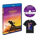 【Amazon.co.jp限定】ボヘミアン・ラプソディ 2枚組ブルーレイ&DVD (特典映像ディスク&オリジナルTシャツ付き)[Blu-ray] image