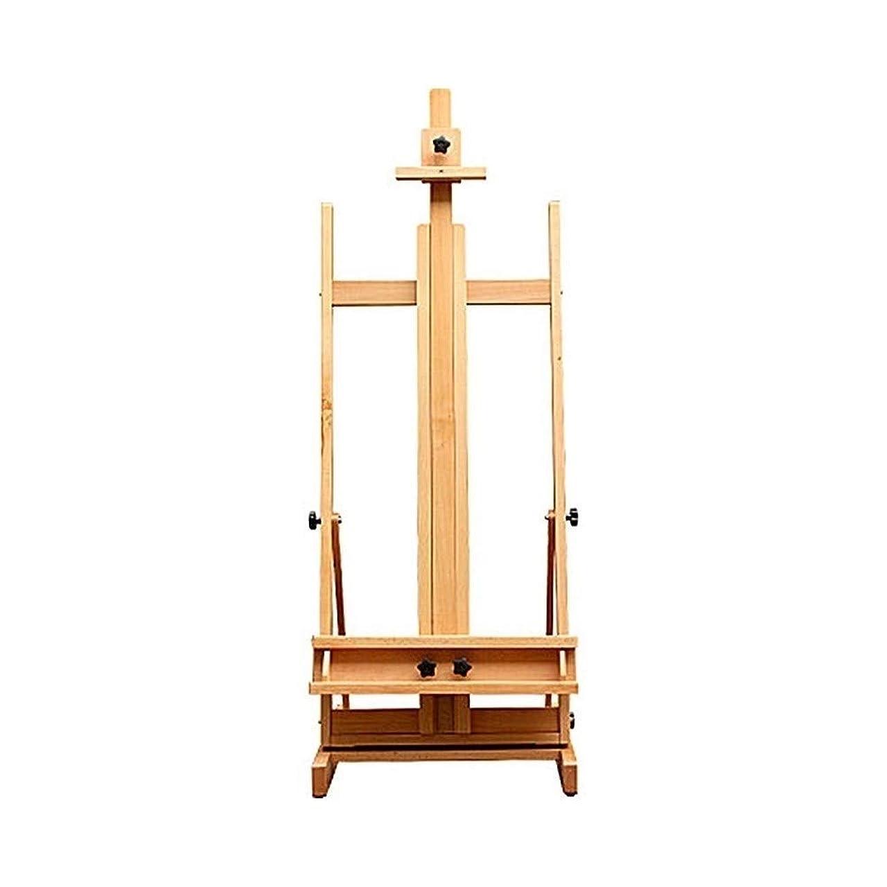 変成器またはどちらか単なる初心者の芸術学生のための木製の床の大きなイーゼル2.2メートル屋内と屋外のイーゼル