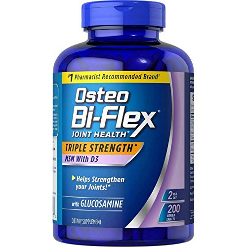 Osteo Bi-flex Triple Comfort Joint Comfort, Salud de las articulaciones, 200 tabletas