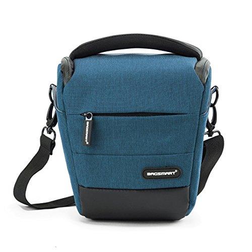 BAGSMART Compact DSLR Camera Bag Shockproof Case Travel Padded Holster...