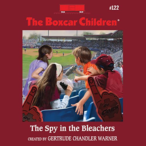 The Spy in the Bleachers cover art