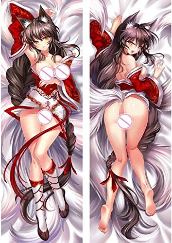 Keppd Ahri - 2 Way Tricot 150 x 50cm(59in x 19.6in) Pillowcase