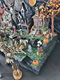 Halloween Village Display Platform for Lemax Spooky Town, Department 56, Pumpkin, Witches