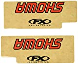 Factory Effex (02-8515 Red Upper Fork Shield Graphic