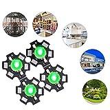 Qinlorgo Chip diodi emettitori di Perline LED ad Alta Potenza da 3W(3.2-3.4V-Verde)...