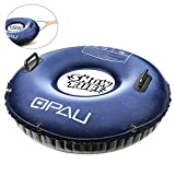 QPAU Snow Tube, Larger 50 Inch Inflatable Snow Sled for Kids and...