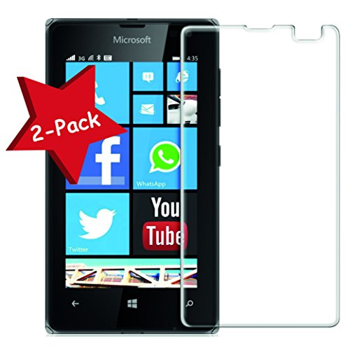 Granadatech [Pack-2] Cristal Templado para Microsoft Lumia 435 l Protector de Pantalla,...