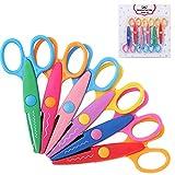 Mr. Pen- Craft Scissors Decorative Edge, 6 Pack, Craft Scissors, Zig Zag Scissors, Decorative Scissors, Scrapbooking Scissors, Fancy Scissors, Scissors for Crafting, Pattern Scissors, Design Scissors