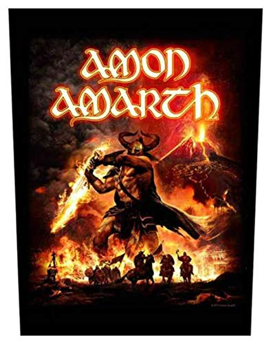 Amon Amarth Surtur Rising Rückenaufnäher