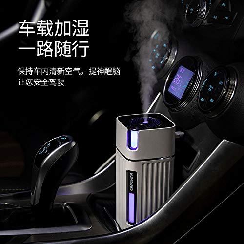Creatieve luchtbevochtiger, mini-auto, muette, auto, kleurrijke lampen, luchtspray, voordeel, luchtbevochtiger Groen