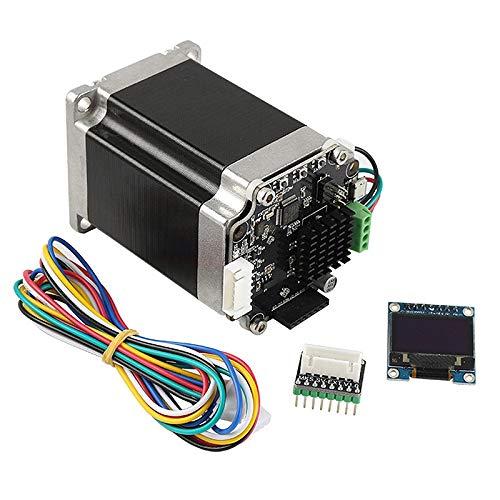 Jaimenalin Impresora 3D STM32 Motor Paso a Paso de Circuito Cerrado MKS SERVO57B con Adaptador para Conectar Directamente a la Placa Base con Pantalla
