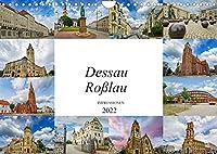 Dessau Rosslau Impressionen (Wandkalender 2022 DIN A4 quer): Eine wunderschoene Bilderreise durch Dessau Rosslau (Monatskalender, 14 Seiten )