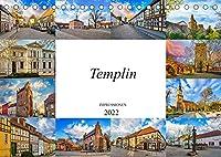 Templin Impressionen (Tischkalender 2022 DIN A5 quer): Zwoelf eindrucksvolle Bilder der Stadt Templin. (Monatskalender, 14 Seiten )