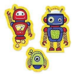 Robots-shaped Party Cut-Outs