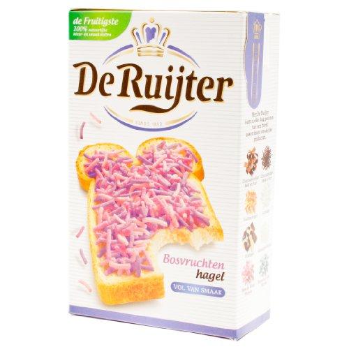 De Ruijter Bosvruchtenhagel Fruit, Granos para Untar con Sabor a Frutas del Bosque