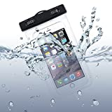 Waterproof Case Transparent Bag Cover Cover Pouch with Touch Screen for LG Phoenix 3 2, Optimus Zone 3 L90 L70, G Pro F7 F60 F6, Exceed 2, Lucid 3, Logos, Leon, Lancet, K8 V K7 K30 K3