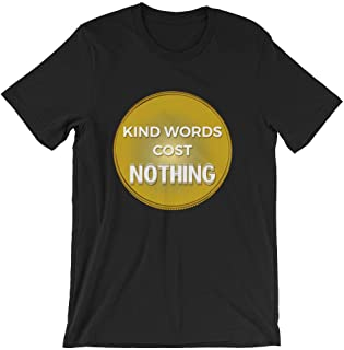 Kind Words Cost Nothing Stop Bullying Spread Love Best Unisex T-Shirt Anti Bullying Awareness Cool Gift Shirt No To Bully Outfit Idea