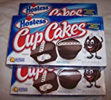 Hostess Cup Cakes 3 Boxes Each has 8 cupcakes 24 cupcakes total Get them while you can- NO LONGER IN STORES