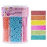 110/220g pequeñas perlas comestibles dulces azúcar fondant pastel DIY hornear chocolate decoración colorido colores azúcar perlas