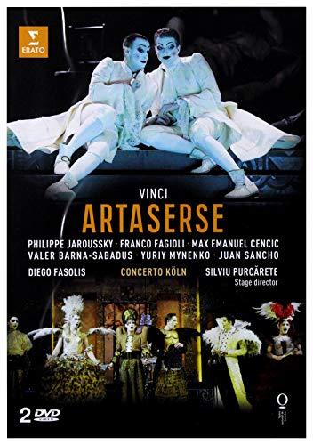 Philippe Jaroussky/Max Emanuel Cencic/Franco Fagioli/Valer Barna-Sabadus/Yuriy Mynenko/Juan Sancho/Concerto Koln/Diego Fasolis: Vinci: Artaserse [2CD]