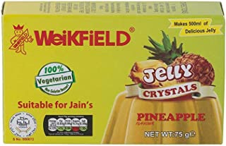 Weikfield Pineapple Jelly Crystals - 75g - (pack of 3)