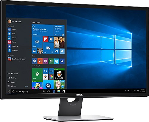 2017 Newest Flagship Dell 28-Inch Ultra HD 4K LED Monitor (3840x2160), LED-backlit TN, Anti-Glare, 2 ms, Blur-free images, HDMI, Built-in dual 9W integrated speakers, USB 3.0, DP and mini-DP