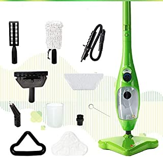 H2O Mop X5 Basic Mop 5 in 1 All Purpose Hand Held Cleaner بخار خانگی ، با کیت لوازم جانبی 11 قطعه