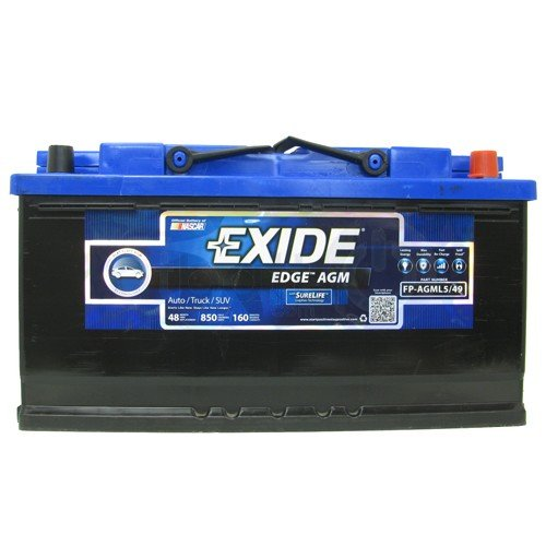 Exide FP-AGML5/49 Flat Plate AGM Battery