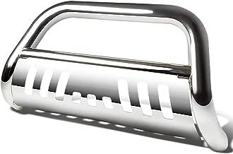 For Honda Pilot/Ridgeline 3 inches Bumper Push Bull Bar+Removable Skid Plate (Chrome)