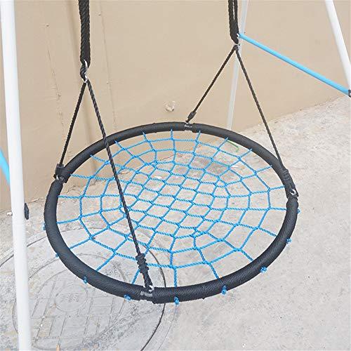 Outdoor Waterdicht Swing, 100Cm Diameter, Veiligheid Beoordeeld 150Kg, Regelbaar Hangend Touwen Voor Kinderen, Volwassenen En Tieners