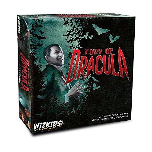 Wizkids WZK73459 Fury of Dracula 4. Edition Englische Auflage, verschiedene Farben