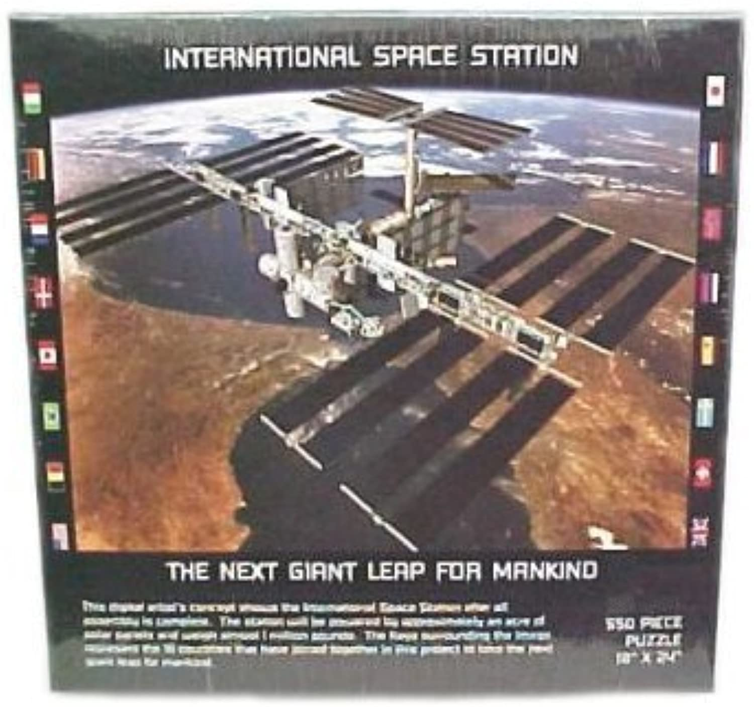 International Space Station Puzzle by RJZ Images by RJZ Images