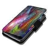 Book Style Flip Handy Tasche Hülle Schutz Hülle Schale Motiv Etui für Huawei Ascend Y330 - A52 Design2