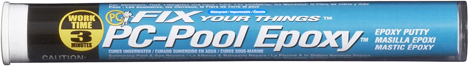 PC Products PC-Pool Epoxy Putty, Moldable 4oz Stick, Off White 41116