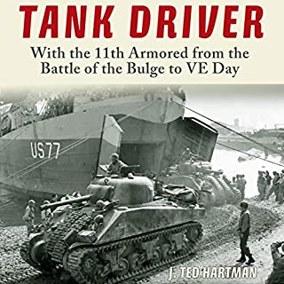 Tank Driver audiobook cover art