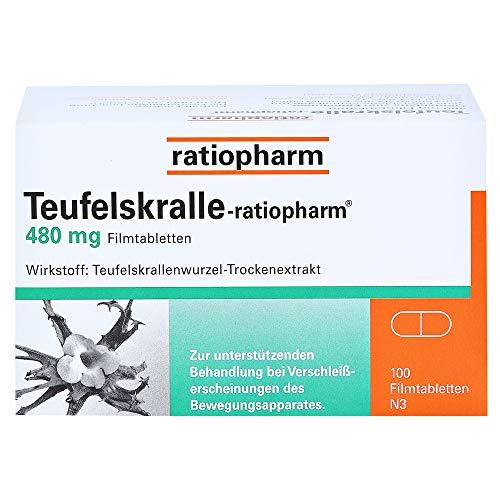 Teufelskralle-ratiopharm, 100 St